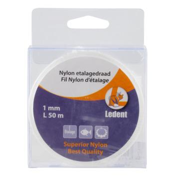 Etalagedraad nylon 1mmx50meter