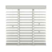 KARWEI horizontale houten jaloezie wit (944) 120 x 220 cm - 50 mm