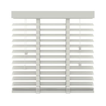 KARWEI horizontale houten jaloezie wit (944) 220 x 220 cm - 50 mm