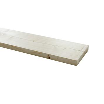 Steigerhout geschaafd ca. 32x200 mm, lengte 250 cm blank