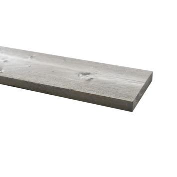 Steigerhout ca. 32x200 mm, lengte 250 cm grijs