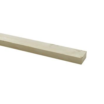 Steigerhouten lat ca. 30x62 mm, lengte 250 cm onbehandeld