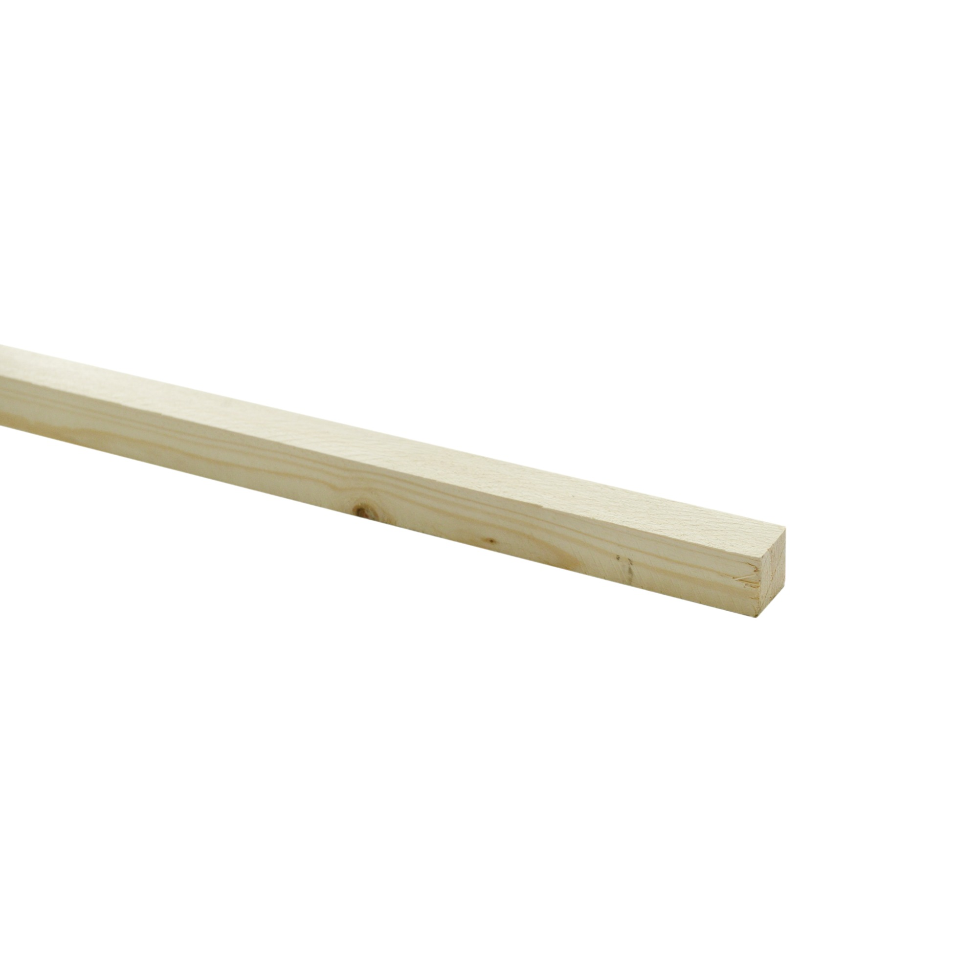 Steigerhouten lat ca. 30x30 mm, lengte 250 cm onbehandeld