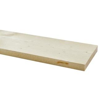 Steigerhout ca. 32x200 mm, lengte 250 cm blank