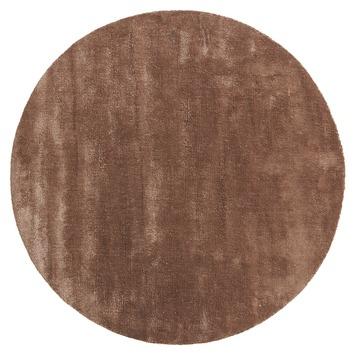 Vloerkleed Sensation brown Ø 180 cm