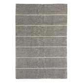 Vloerkleed grid zwart / wit 160x230 cm