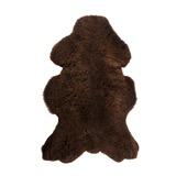 WOOOD echte schapenvacht bruin ca. 110x60 cm