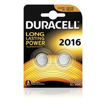 Duracell knoopcell 2016 2 stuks