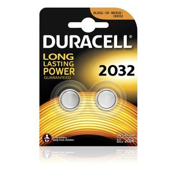 Duracell Batterij CR2032 Lithium-knoopcelbatterij 3V 2 stuks