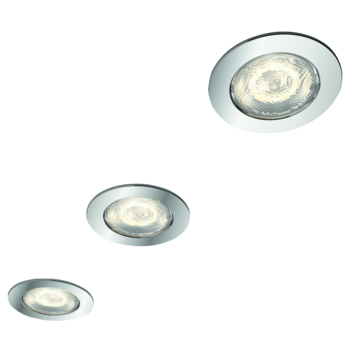 Philips LED inbouwspot Dreaminess Chroom 3X4,5W