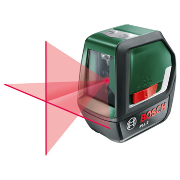 Bosch kruislijnlaser PPL2 met hellingfunctie