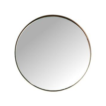 Spiegel met leren riem perfect spiegel met leren riem for Spiegel rond leer