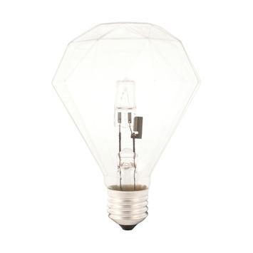Calex spaar halogeen diamant lamp 42W E27