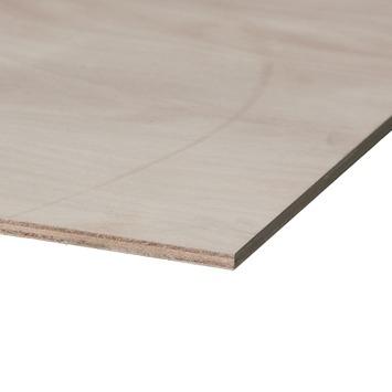 Okoumé garant hardhout multiplex 125x61 cm dikte 18 mm