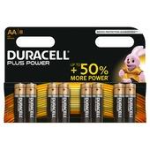 Duracell Plus Power Duralock batterij AA 1,5V (8 stuks)