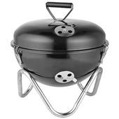 Tafelbarbecue zwart 34 cm