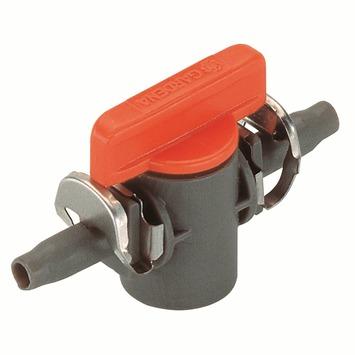 "Gardena Micro Drip Afsluitventiel 4,6 mm (3/16"") Quick+E"