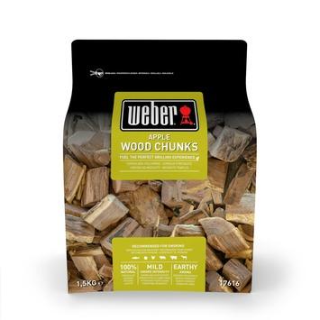 Weber® Houtblokjes 1,5 kg, Apple