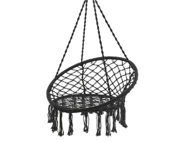 Hangstoel Met Franjes.Hangstoel Franjes Zwart Kopen Tuinstoelen Karwei