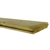 Blokhutprofiel geïmpregneerd ca. 2,1x10,7 cm, lengte ca. 240 cm