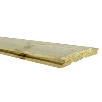 Rabatdeel vuren ca. 1,7x13,5 cm, lengte 240 cm