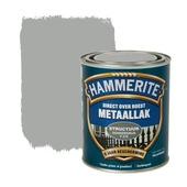 Hammerite Direct over Roest metaallak structuur donkergrijs 750 ml