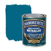 Hammerite Direct over Roest metaallak structuur donkerblauw 750 ml