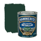 Hammerite Direct over Roest metaallak structuur donkergroen 750 ml