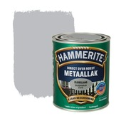 Hammerite Direct over Roest metaallak zijdeglans zilvergrijs 750 ml