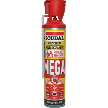 Soudal pur bouwschuim high volume 600 ml