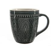 Mok aardewerk Ø 9x10 cm donkergroen
