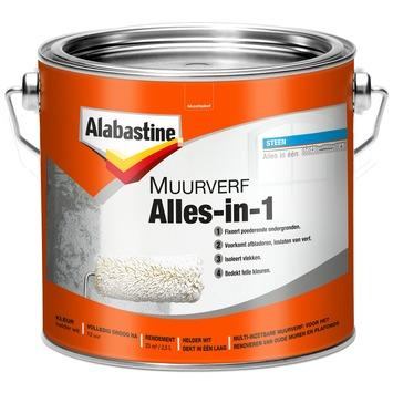 Alabastine muurverf alles in 1 2,5 l