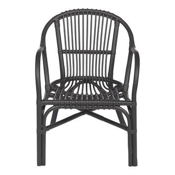 Relaxstoel Ursula zwart