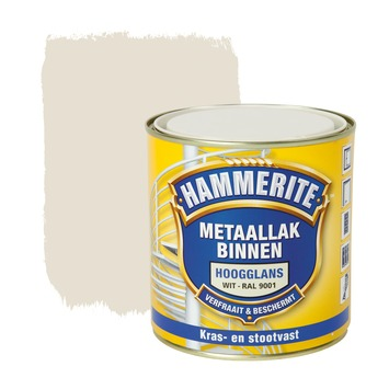 Hammerite Direct over Roest metaallak hoogglans ral 9001 500 ml