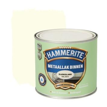 Hammerite Direct over Roest metaallak zijdeglans ral 9010 500 ml