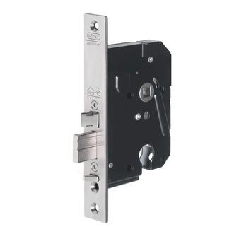 NEMEF veiligheidsslot zelfsluitend blokschoot SKG 2-sterren Doorn 50mm PC 55mm