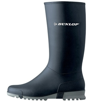 Dunlop werklaars PVC blauw mt 36