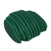 Draad met rubber groen 6 mm / 5 m