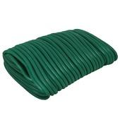 Draad met rubber groen 3 mm / 10 m