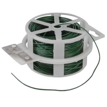 Metaaldraad geplastificeerd groen