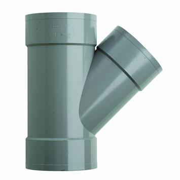 Martens PVC T-stuk 45° 3x Mof 125 x 110 mm
