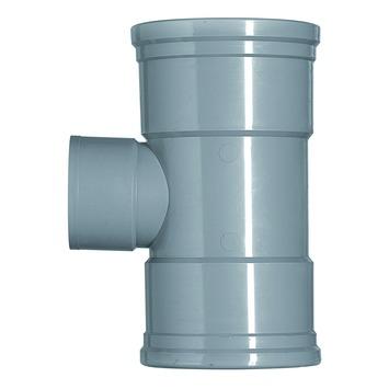 Martens PVC T-stuk 90° 2x manchet 110x75 mm