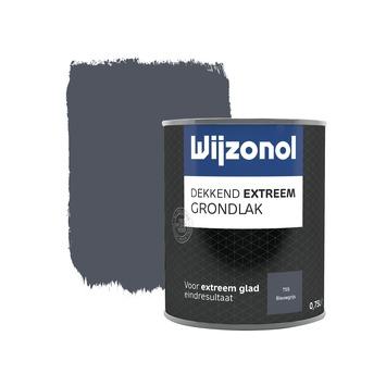 Wijzonol Dekkend extreem grondverf blauwgrijs 750ml