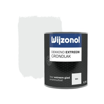Wijzonol Dekkend extreem Grondlak Wit 750ml