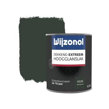 Wijzonol Dekkend extreem Woudgroen Hoogglans 750ml