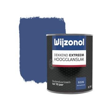 Wijzonol Dekkend extreem Koningsblauw Hoogglans 750ml
