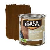 CetaBever binnenbeits transparant zijdeglans noten 250 ml
