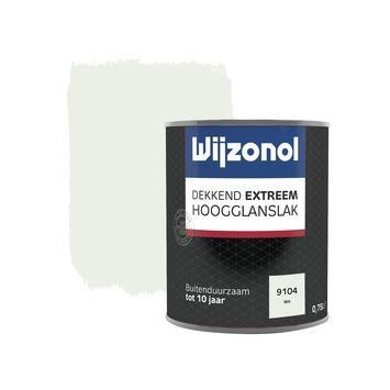 Wijzonol Dekkend extreem Wit Hoogglans 750ml