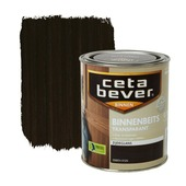 CetaBever binnenbeits transparant zijdeglans ebben 750 ml