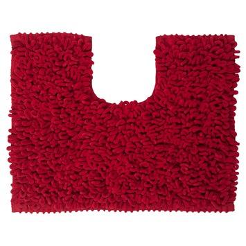 Sealskin wc mat Twist rood 45x50 cm